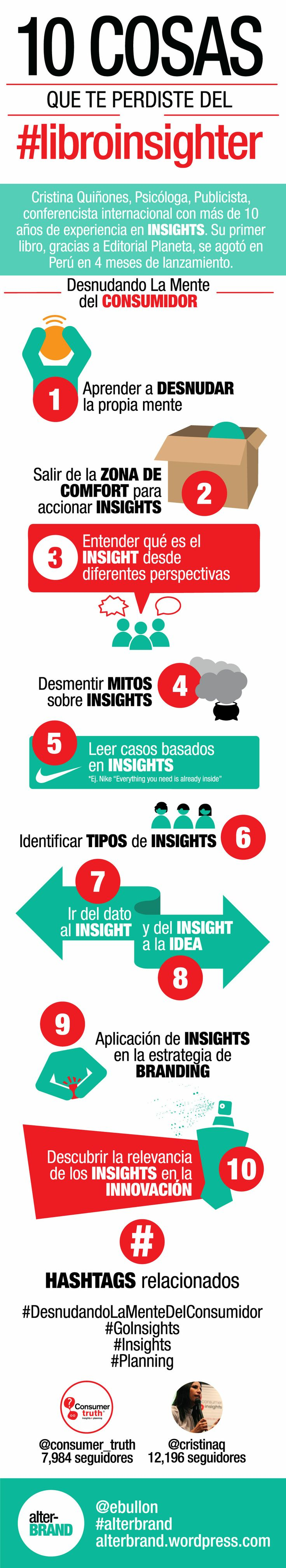 "10 Datos del libro Insighter ""Desnudando la mente del Consumidor"" - MarketerosLATAM"