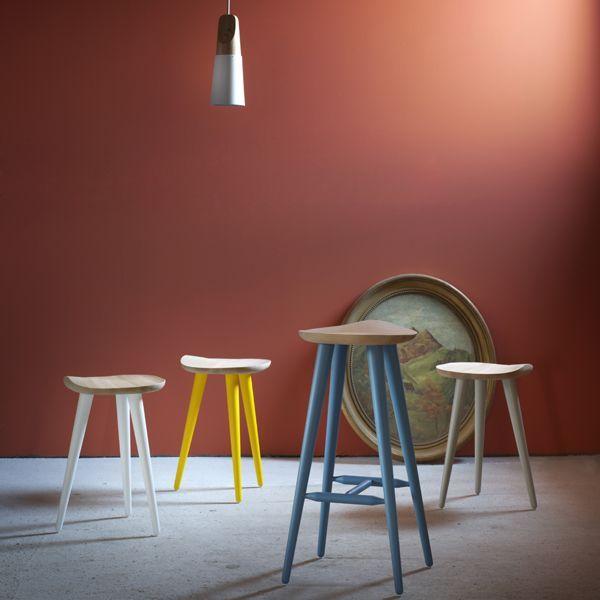 Sgabello Lechuck - design Giorgio Biscaro - Miniforms