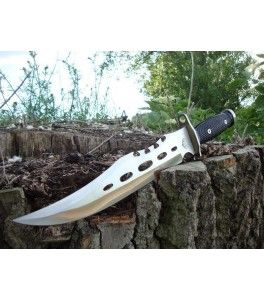 bowie survival mes rambo knive messen outdoor, prepper tools