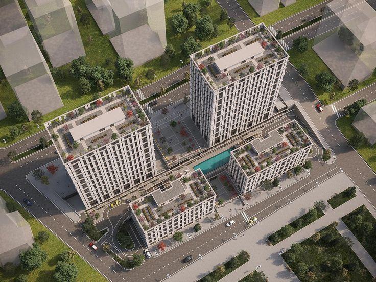 Emporia İstanbul - 3 Boyutlu Görünüm, Fiyatları, Nerede, Resimleri, Kat Planları