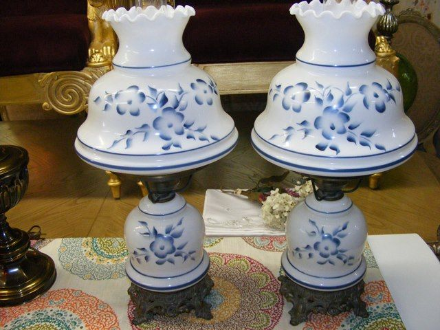 Marvau0027s Place Used Furniture U0026 Consignment Store | Vintage Hand Painted  Lamps. $119 EACH AT MARVASPLACE.COM PLYMOUTH MINNESOTA MARVAu0027S PLACE USED  FURNITURE ...