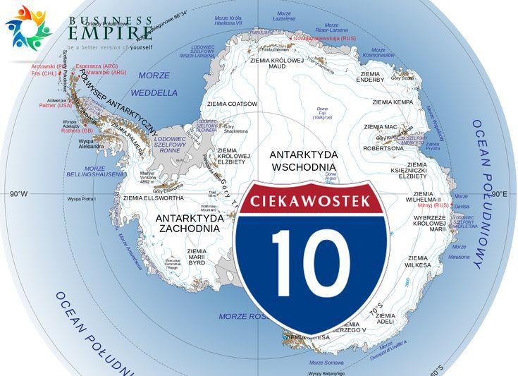 10 ciekawostek o Antarktydzie