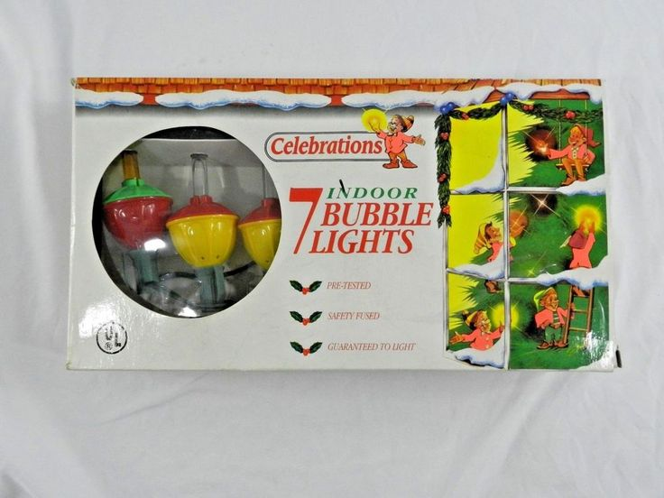 7 Indoor Bubble Christmas Lights Celebrations In Box #Celebrations