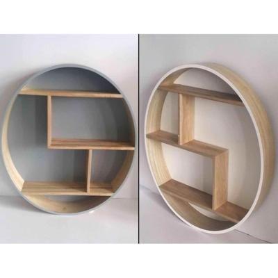 Étagère murale ronde en bois etagere scandinave etagere ronde , vendu à l'unité - Achat / Vente etagère murale Étagère murale ronde en boi - Cdiscount