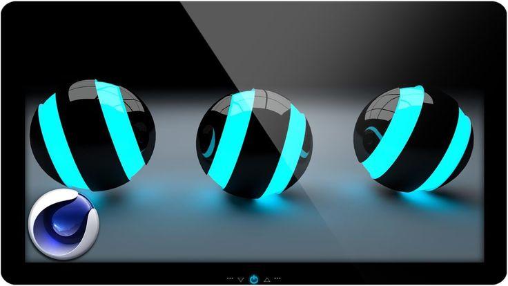 Cinema 4D Esfera Luminosa - Global Illumination - Realismo