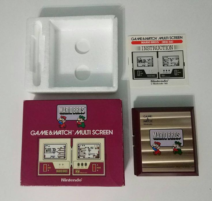 """Nintendo Game & Watch: Mario Bros  I was lucky. I got this one in an auction regarding an """"old game about Mario"""" but without game and watch words. Lucky!  #nintendo #gamewatch #gameandwatch #retrogaming #retrogames #mario #supermario #supermariobros #mariobros"""