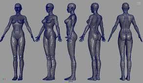 3d female model - Google 검색