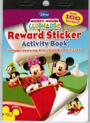 Mickey Mouse Clubhouse Mini Reward Sticker Book Party Supplies by Bendon. $4.99