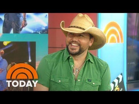 Country Superstar Jason Aldean Reveals His Pre-Show Rituals On TODAY's Take | TODAY - YouTube