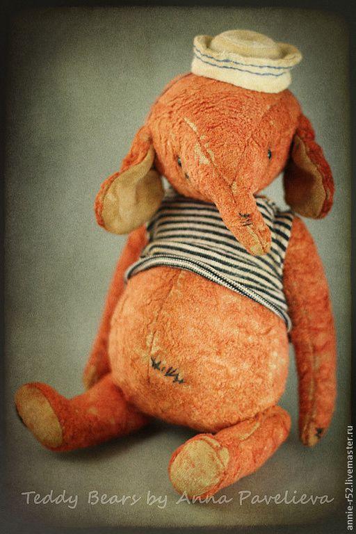 Купить Bubble морячок :) - ярко-красный, друзья тедди, коллекционная игрушка, слоник, слон