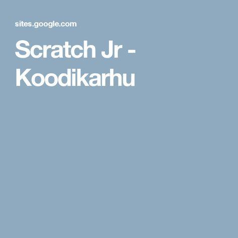 Scratch Jr - Koodikarhu