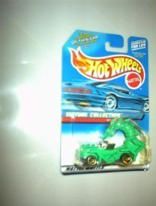 #2000-126 RODZILLA Virtual Collection Collectible Collector Car Mattel Hot Wheels by Hot Wheels. $2.99. Great Investment!. Perfect for any Hot Wheels Car Collector. Diecast Metal Hot Wheels Cars are Perfect For that Hot Wheels Collector!. The Bright Green Dragon adorned car is a great imaginative collector's car!