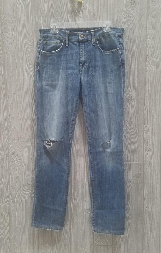 255c064131e Joe's Jeans Men's Size 30Wx32.5L Brixton Straight and Narrow Jean Distressed  #JoesJeans #StraightandNarrow