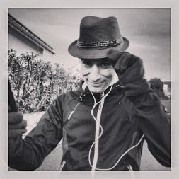 Do secret agents #run? This one for sure! Agent Dan on his secret running mission..