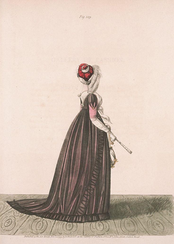 Heideloff's Gallery of Fashion Nov 1799 Fig. 239