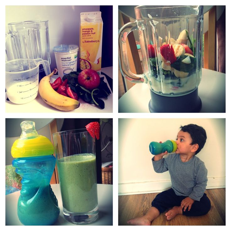 toddler smoothie recipe -- by Hannah!