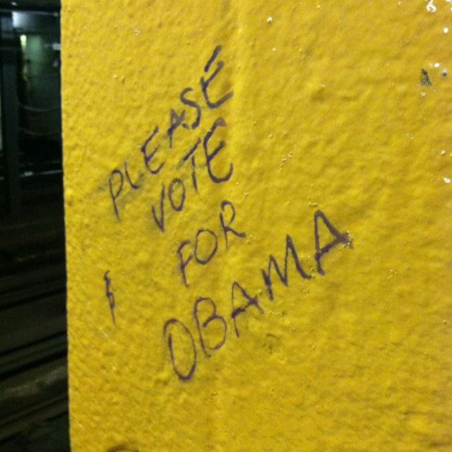 Dykman St. subway stop, Manhattan.Dykman St