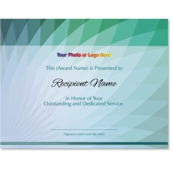 employee recognition certificates