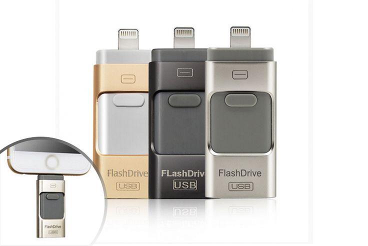 16GB, 32GB or 64GB iFlash Drive for iPhone or iPad
