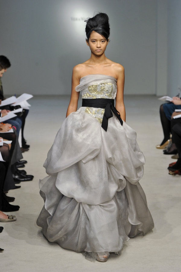 147 best images about vera wang on pinterest spring 2016 for Vera wang gray wedding dress