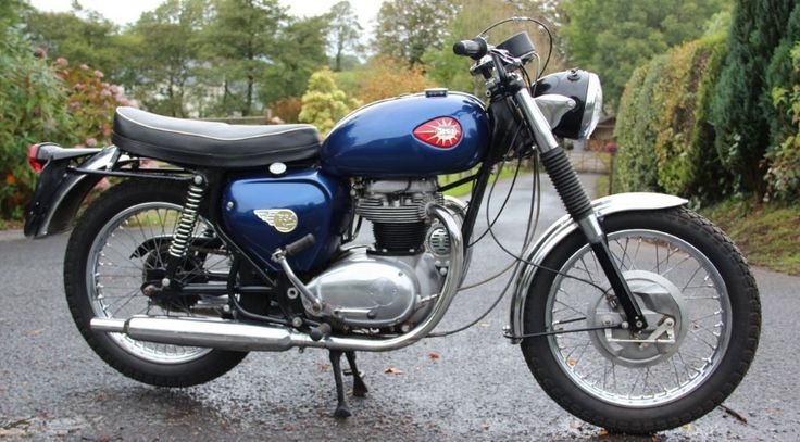 1968 Bsa Thunderbolt