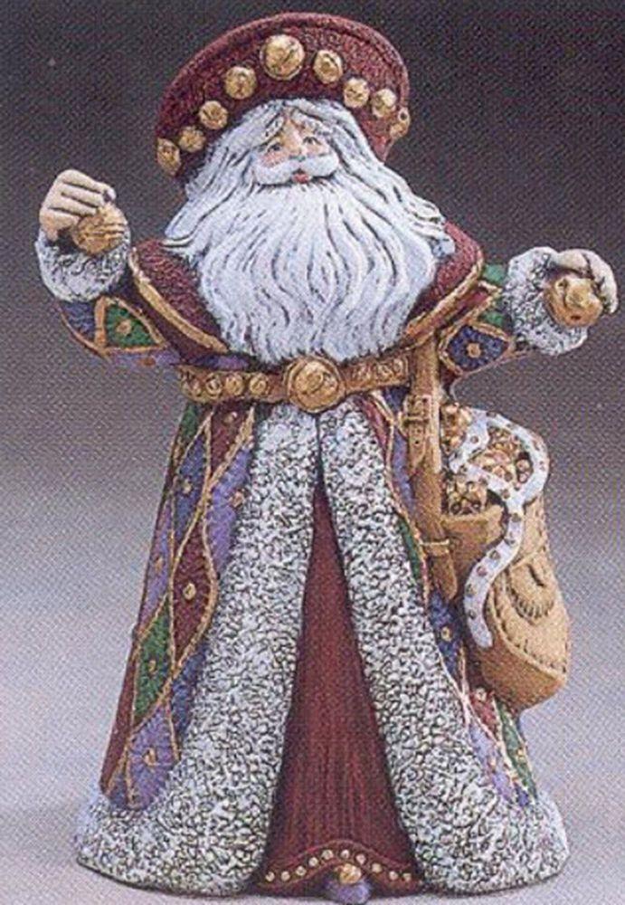 Ceramic Bisque Ready to Paint Jingle Bells Santa