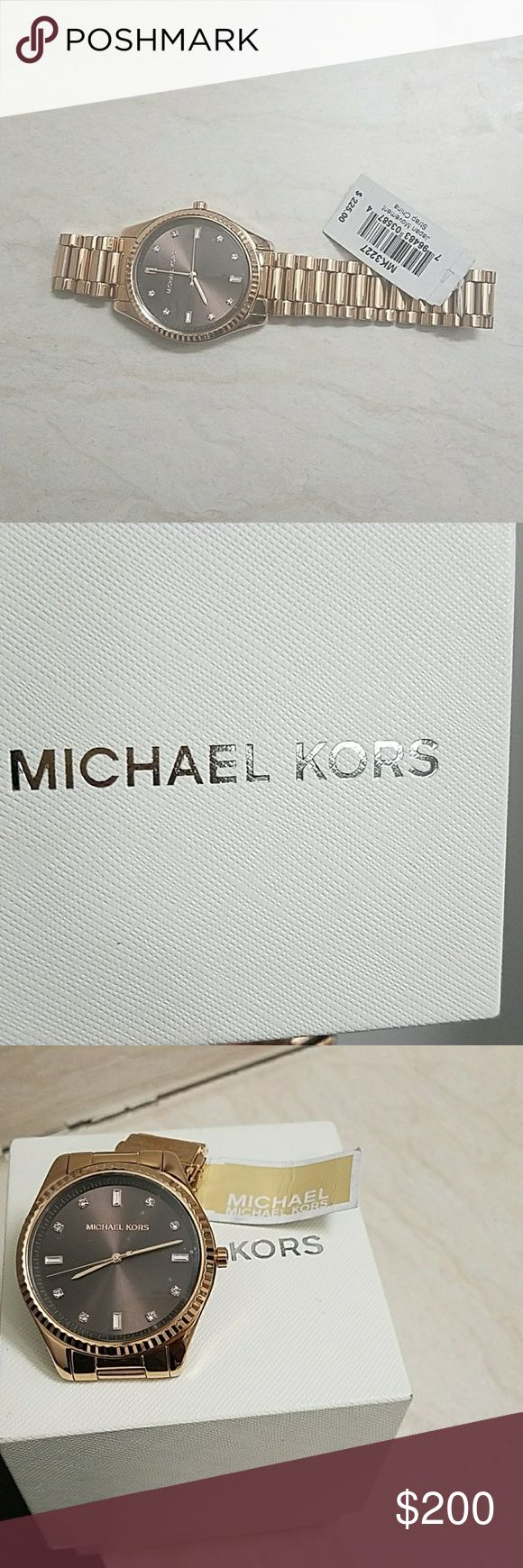 Brand new Michael kors watch Very new. Never used, still in box . For any hand size, I have not adjusted anything so u can still reduce if it's big micheal kors Accessories Watches