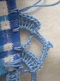 - Bico de Crochet numa só carreira! Em atendimento a algumas senhoras que me pediram o gráfico do bico de crochet do post http://filome...