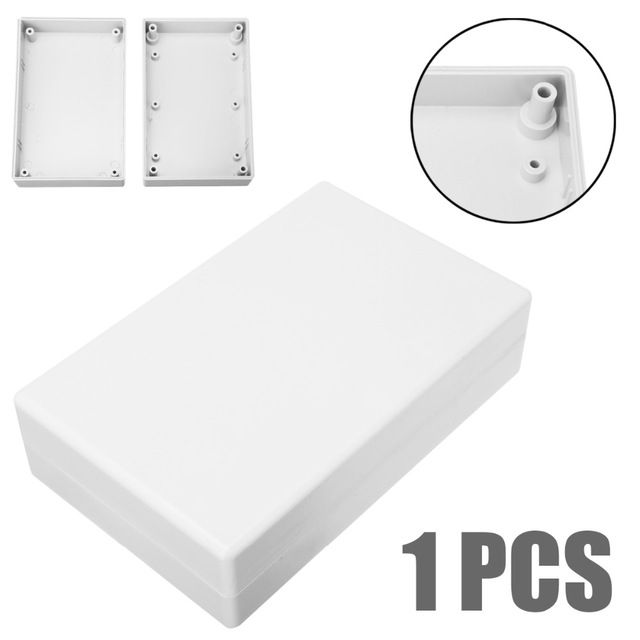 White Electronic Project Case Waterproof Plastic Cover Enclosure Box 125x80x32mm For Power Supply Units Review Waterproofing Plastic Electronics
