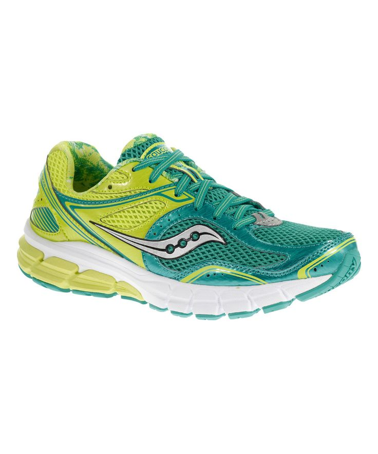 This Saucony Blue & Yellow Lancer Running Shoe by Saucony is perfect! #zulilyfinds