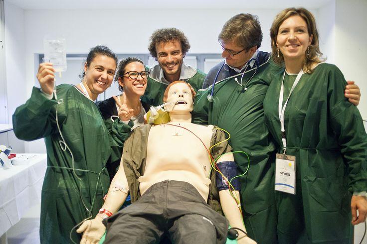Foto del IX Congresso nazionale Simeu - Torino, 6-8 novembre 2014 #SimMan Simulazione Medica https://flic.kr/p/p9pF1b
