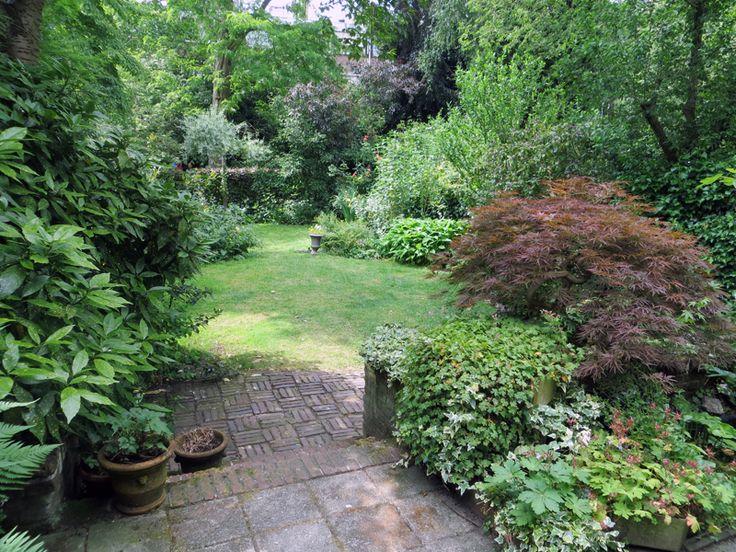 In bloei tuin in de stad tuin pinterest tuin terras en groen - Schorsing bloei stad ...