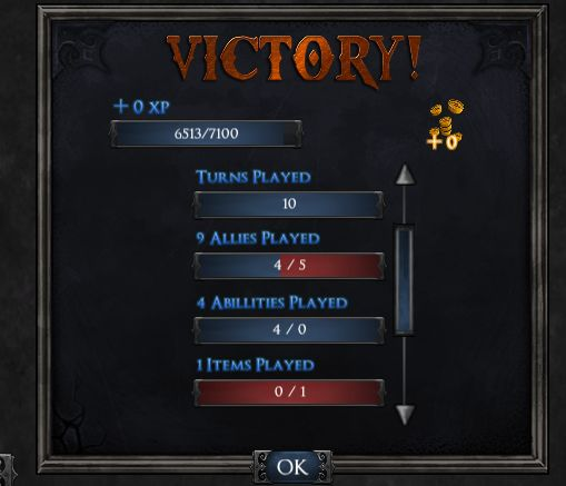A look at the new Shadow Era end screen in the test server. Lots of stats for our players!  #shadowera #tcg #ccg #app