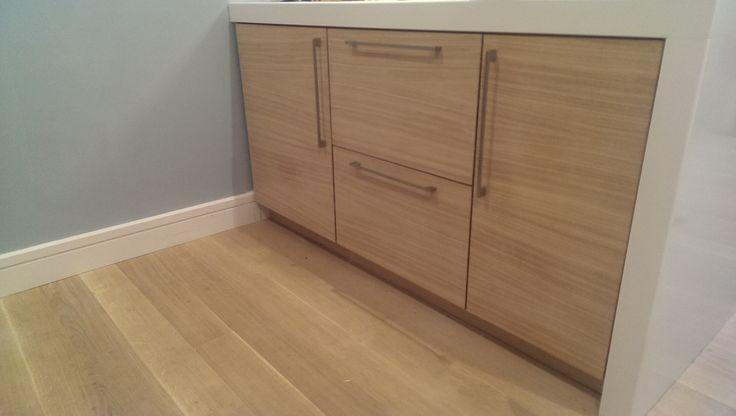 Rift Sawn Oak Doors, Euro Oak Flooring, Silstone Worktop