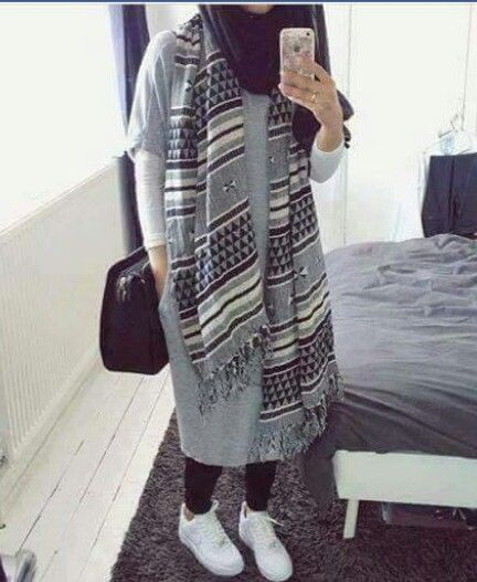 Hijab Outfit//good way to cover up and be stylish at the same time