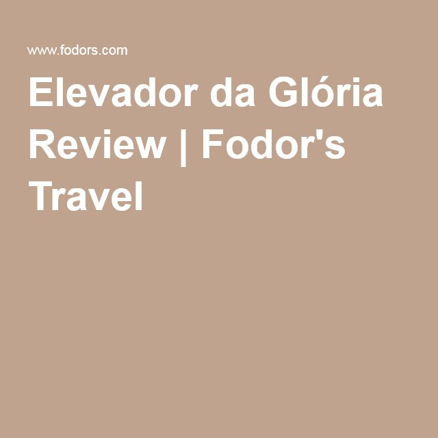 Elevador da Glória Review | Fodor's Travel