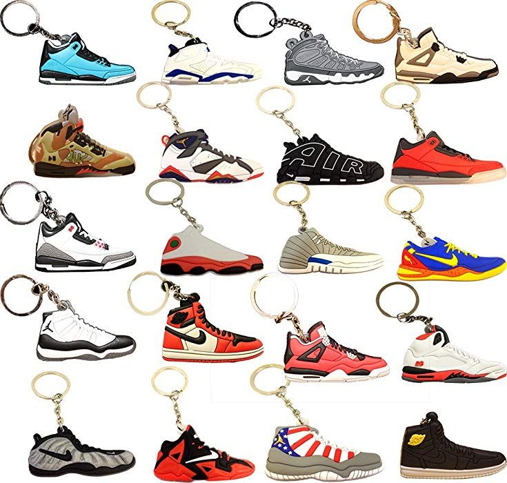 Sneaker Keychains