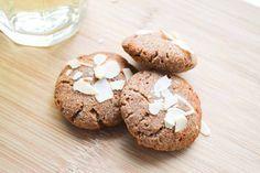 Koekjes van Kokosmeel met Kaneel & Geschaafde Amandelen