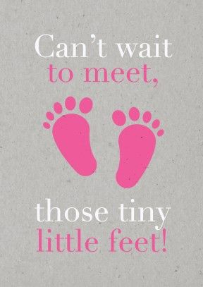 tiny feet pink new baby bc1595 pinterest babies pregnancy and grandchildren