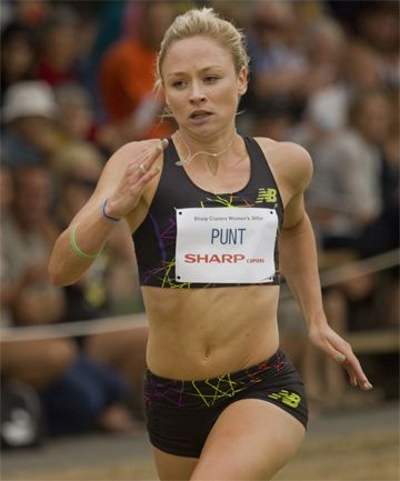 Anita Punt, field hockey and track and field star