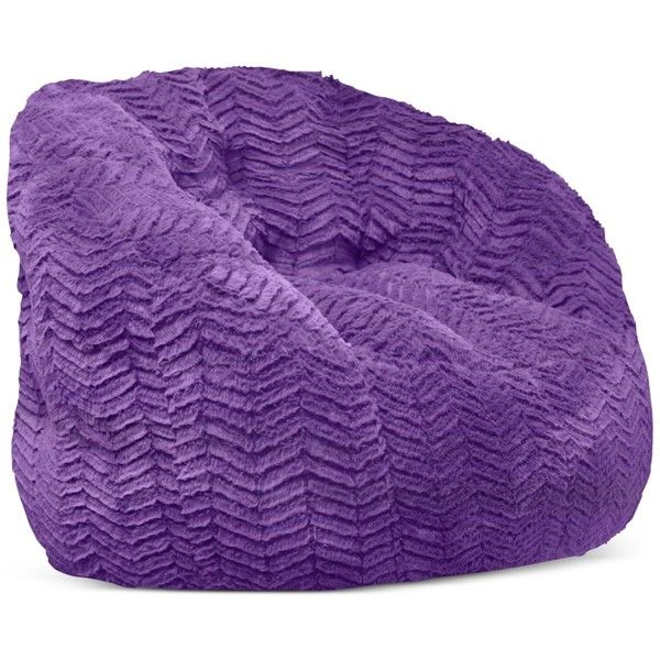 Derek Bean Bag, Direct Ships for $9.95 ($89) ❤ liked on Polyvore featuring home, furniture, chairs, purple, purple furniture, beanbag furniture, purple bean bag, bean bag and beanbag chair