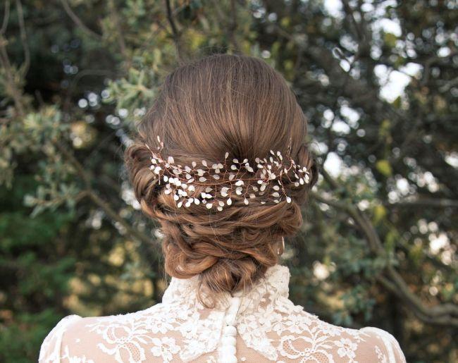 Los 60 mejores peinados de novia 2016: encuentra el perfecto para ti Image: 0