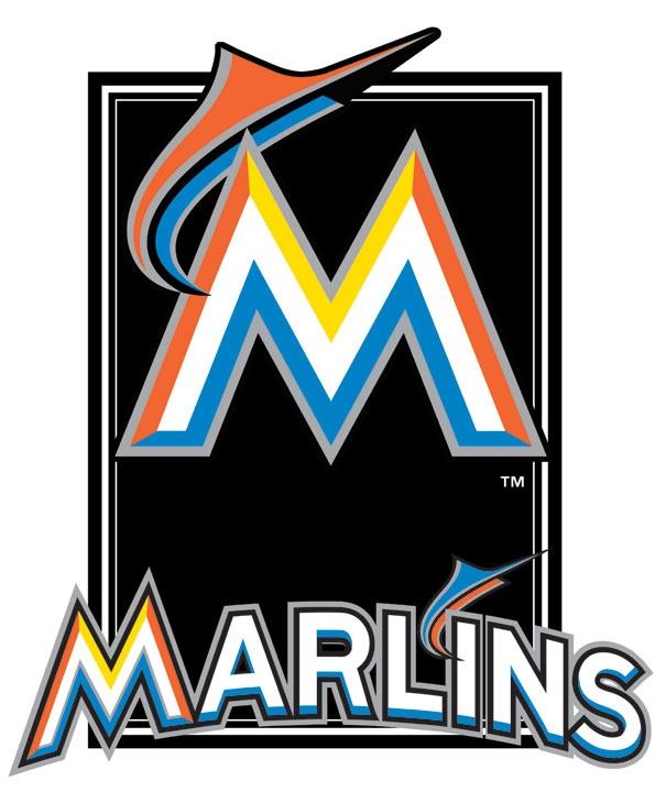 Miami Marlins 3D plaque: Miami Marlins, Plaque Target, 3D Logo, Mlb Florida, Marlins 3D, Tropical Action