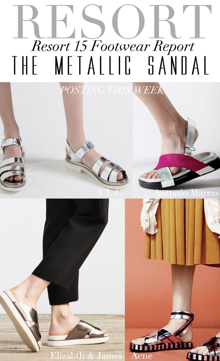 resort 15: footwear report