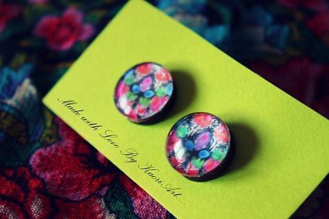 Folk earrings 2