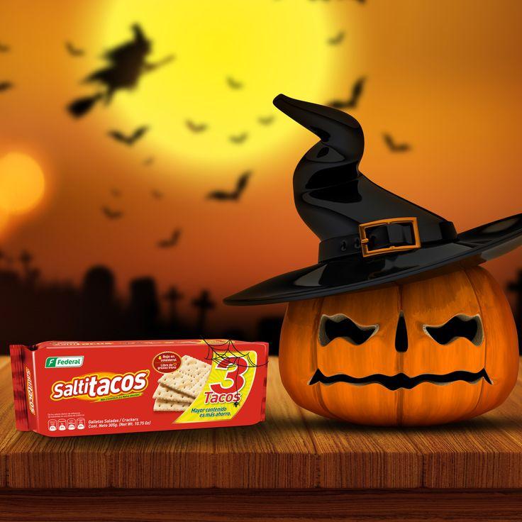 ¡Galletas embrujadas!  Halloween llegó hasta las mesas de Galletas Federal y lanzo un hechizo que embrujó todas nuestras galleas.  #GalletasFederal #halloween