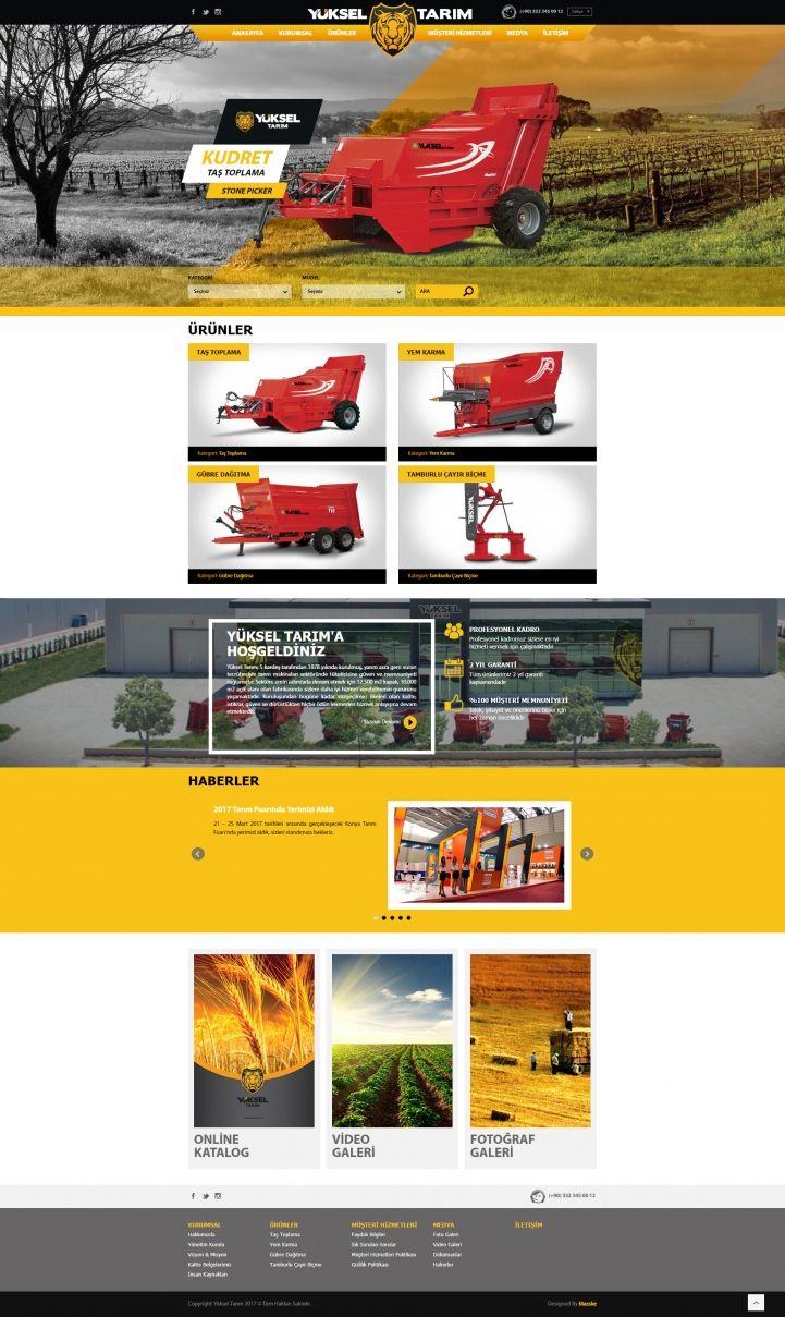 Masske Konya Reklam Ajansı - Yüksel Tarım