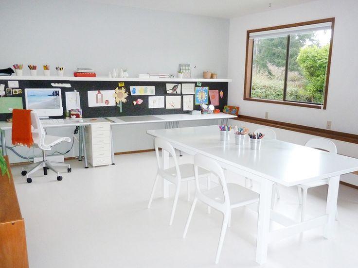 Aya's Basement Home Office