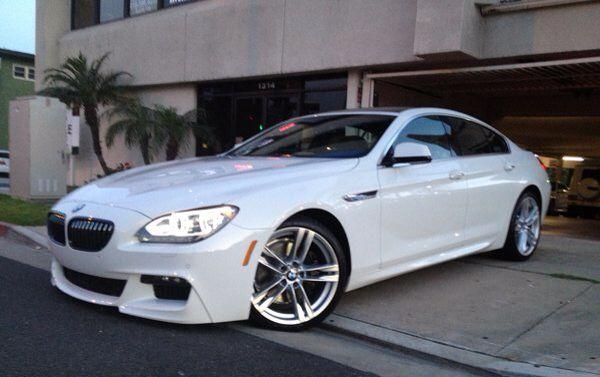 BMW 6 series sedan - my next car, speak it into existence