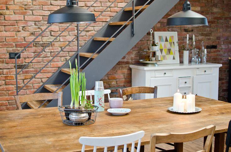 die besten 25 backsteinwand ideen auf pinterest. Black Bedroom Furniture Sets. Home Design Ideas